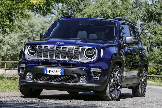 Jeep Renegade Gets a PHEV Variant for Europe in 2020