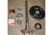 013 jeep rear wheel bearing replacement new parts
