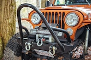 010 garrett barnes 1976 CJ7 bumper and stuff