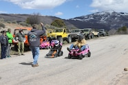 Barbie Jeep Race