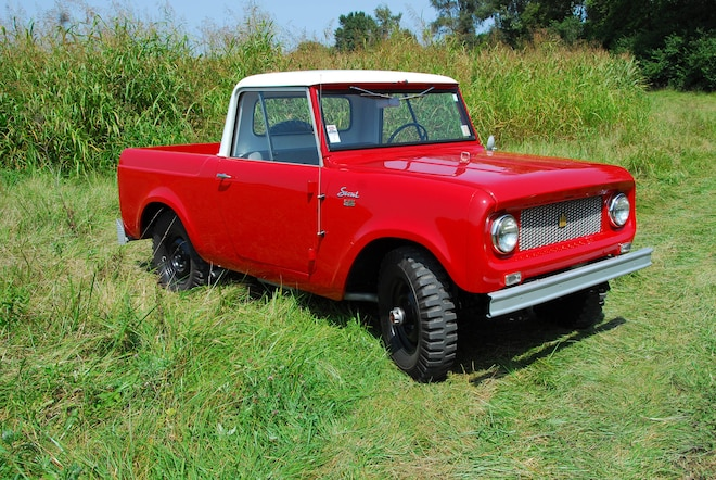 Backward Glances: Scout Hearted, 1961 Cab-Top