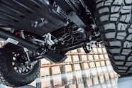 rangerx finished rear suspension