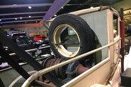 22 lund international white motor company truck on mrap axles at sema 2018