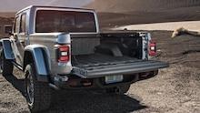 2020 Jeep Gladiator Rubicon tailgate open