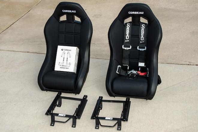 Installing Corbeau Baja XP Suspension Seats & Sliders
