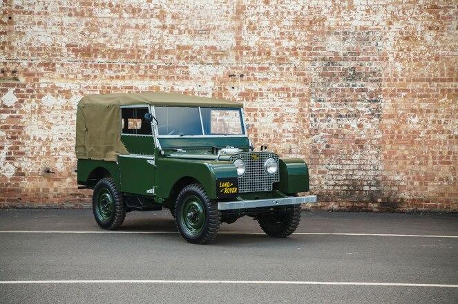 "Land Rover Classic Debuts 1948 Series I ""Reborn"""