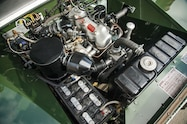 1948 land rover series i reborn engine bay