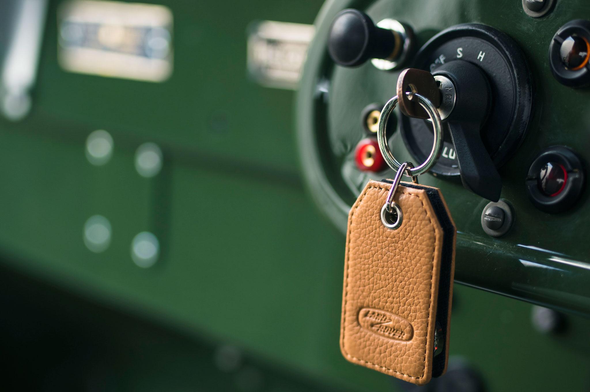 1948 land rover series i reborn key switch