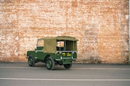 1948 land rover series i reborn rear quarter