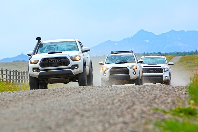 TRD Pro-Verlanding: Montrose To Moab On Dirt—In Toyota's 2019 TRD Pro Lineup