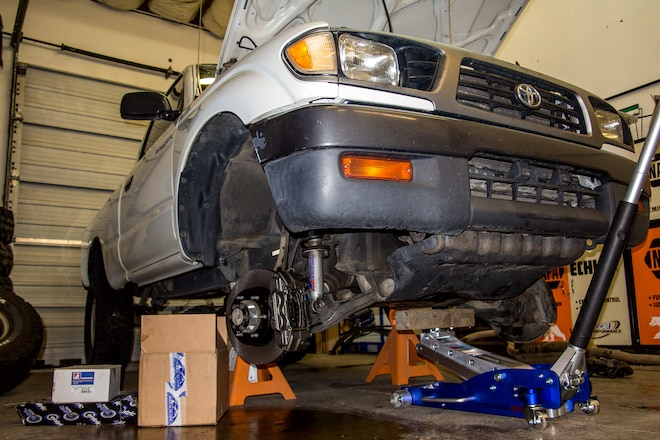 Bolt on better brakes for your Toyota Tacoma