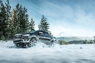 2019 Ford Ranger Lariat Chrome FX4 Super Crew in snow