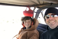 christian hazel drives uacj6d to moab with no cooling fan selfie