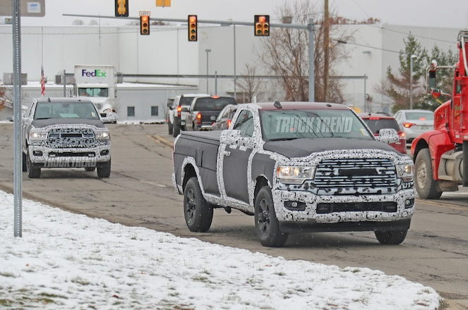 SPIED: 2020 Ram 2500 / 3500 Heavy Duty in Three Trims and Bodies