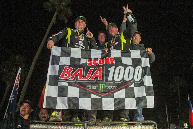 Cameron Steele Brings Home Emotional First Trophy Truck Victory at 2018 Baja 1000