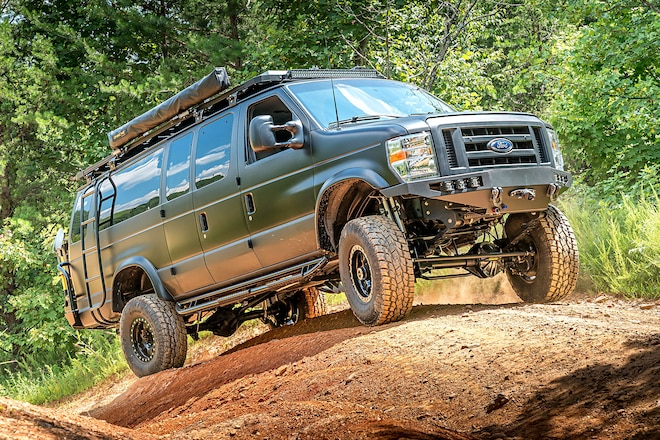 The Bat Van: Conquering SoCal With a 2002 Ford E-350 4x4