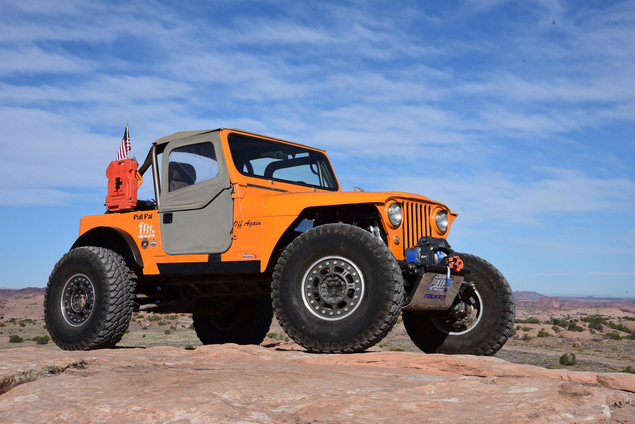 1976 Jeep CJ-7: Right Kind of Hybrid Jeep