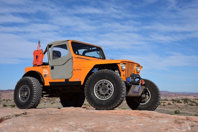 1976 Jeep CJ-7: Right Kind of Hybrid Jeep
