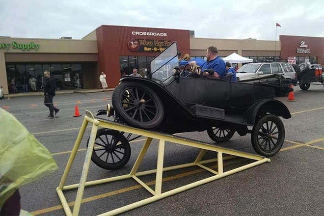 Watch a Ford Model T Shame Jeeps With Its Suspension Flex!