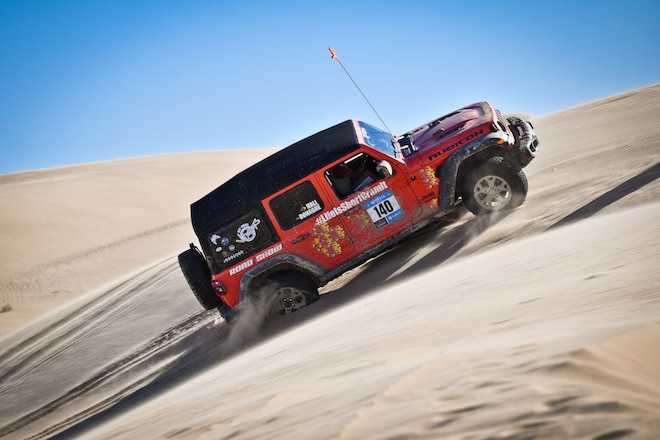 Rebelle Rally Presents Jeep With Bone Stock Award at Los Angeles Auto Show