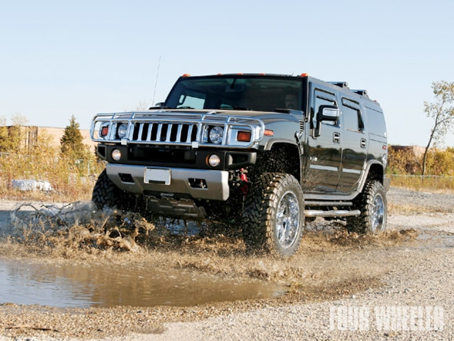 Hummer H2 Rancho Suspension Lift - Elevated