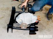 129 0905 07 z+hummer h2 suspension+mount differential subframe