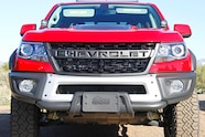 2019 chevy silverado 2.7l colorado zr2 bison first drive bison front view