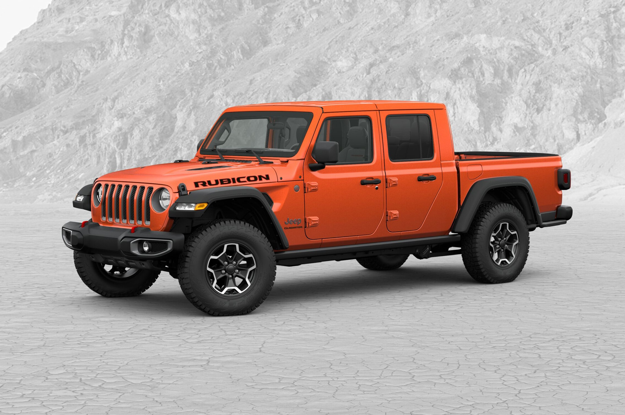 2020 jeep gladiator rubicon build and price exterior front quarter 01 doors and roof on