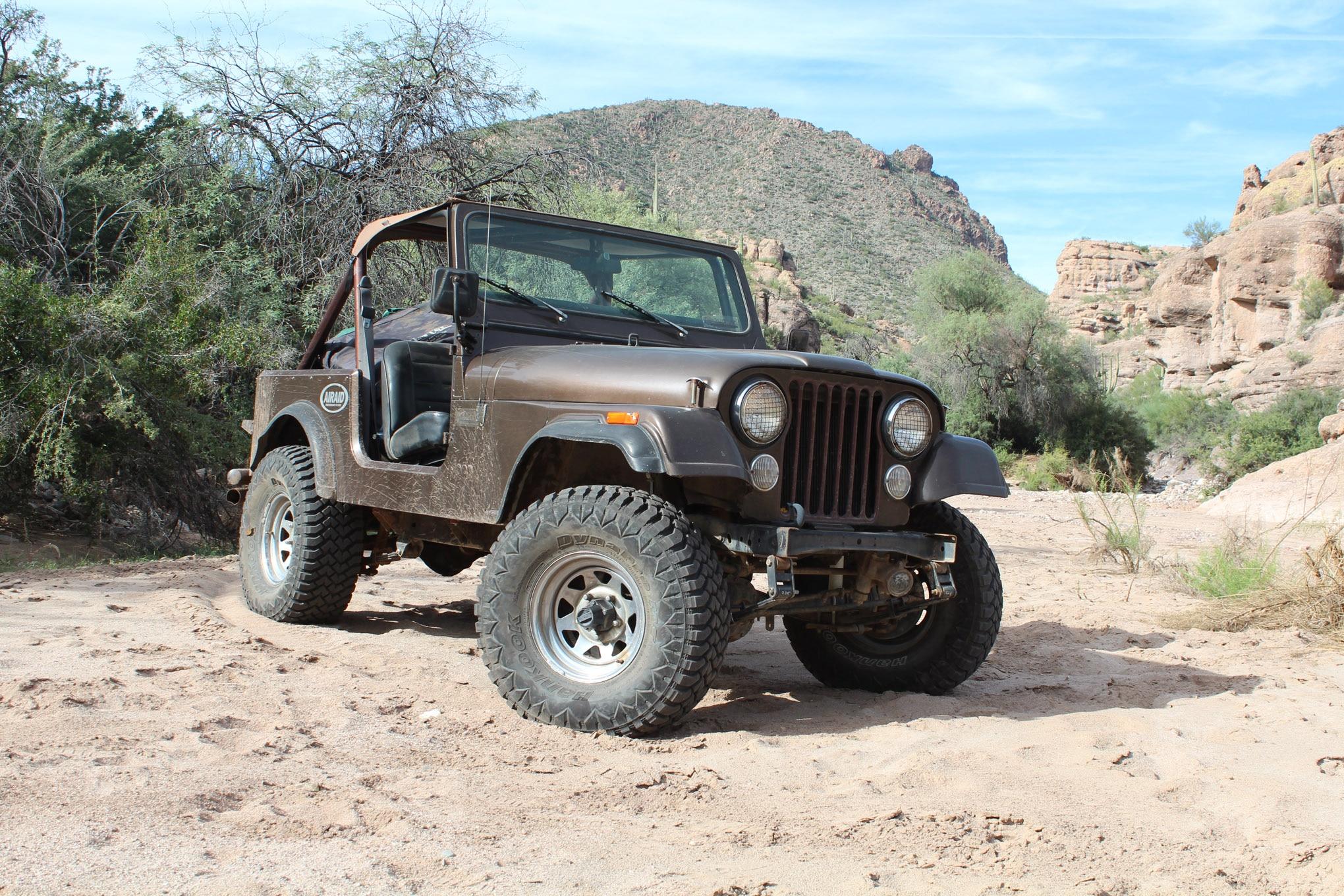 04 nuts jeep cj7 mild trail build