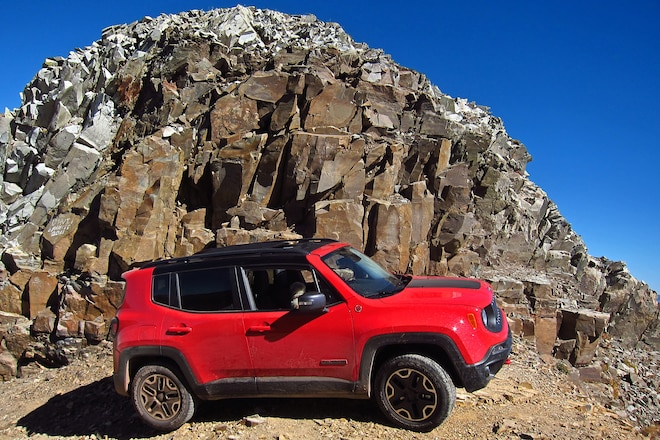 How a Jeep Renegade Conquers Black Bear Pass (From the Passenger's POV)