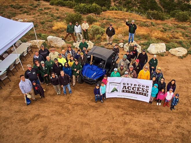San Bernardino Forest Gets Much Needed Rehab From Yamaha Volunteers