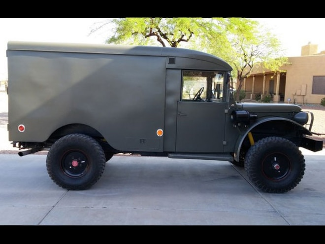 Forum Find: This Cummins-Powered 1958 Power Wagon Ambulance is One We Want to Ride in