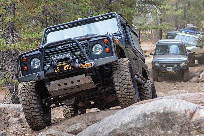 Derange Rover Crashes the Party at the Western National Land Rover Rally