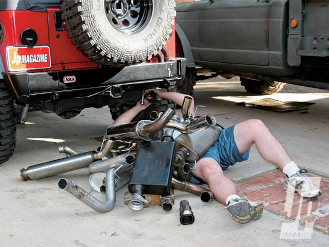 Jeep Wrangler Cat-Back Exhaust Shootout