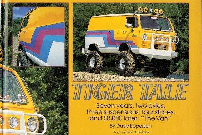Trail's End: Tiger's Van