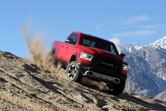 Ram 1500 Rebel is Four Wheeler's 2019 Pickup Truck Of The Year!