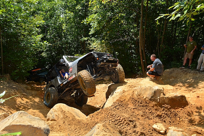 Warn Takes On Windrock OHV Park