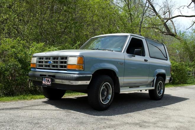 Backward Glances: The Deuce: A Rare 1990 Last-Year Bronco II