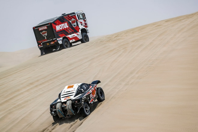 Dakar Rally Hits Halfway Point