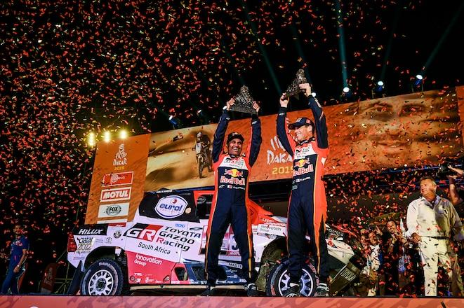 Dakar Final: Nasser Wins 3rd Rally