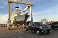 2020 gmc sierra 3500hd denali exterior front quarter boat tender