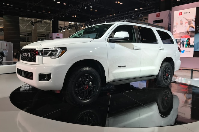 2019 Chicago Auto Show – Toyota Adds Sequoia Variant to the 2020 TRD Pro Lineup