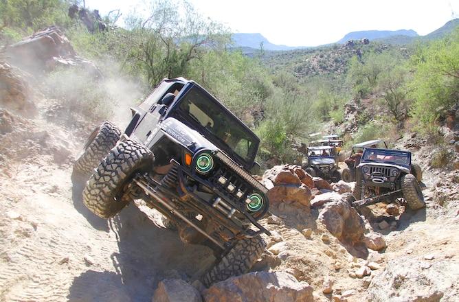 Table Mesa Arizona Jeep Trails