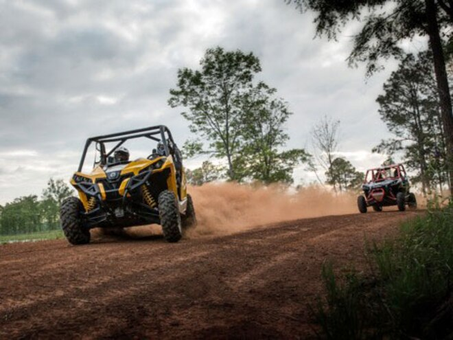 Can-Am Adds 2 New Dirt Eating Side-by-Side Models to 2017 Maverick Lineup