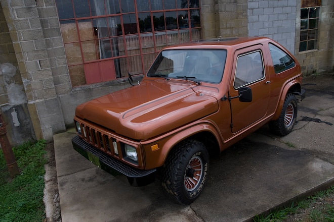 International Harvester's Corvette - A future Scout, left in the past