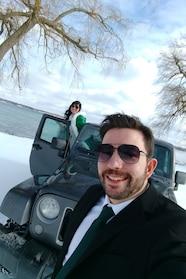 jeep reader rides sideways brian maby gavin jenny wedding
