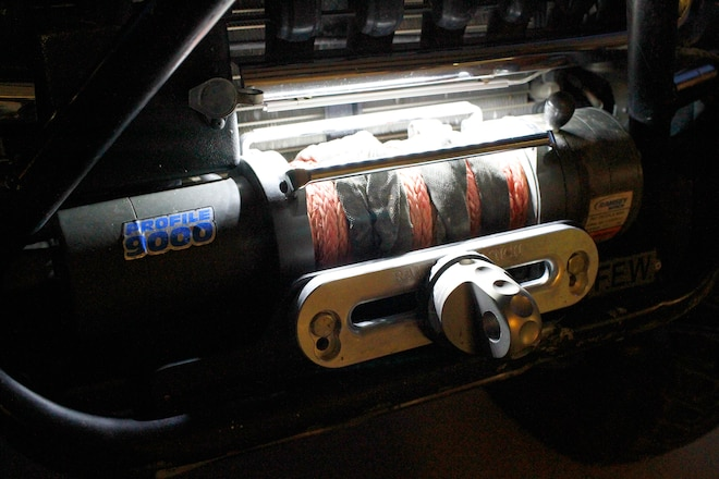 Illuminate Your Winch Spool At Night With LED Strip Lights