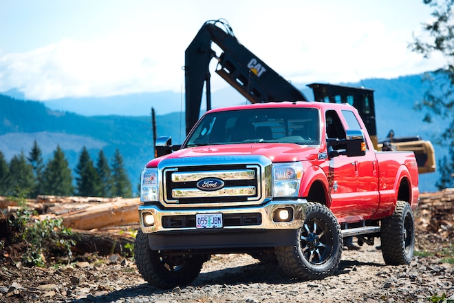 Top Shelf: Carli Suspension's 4.5-inch Coilover Conversion Improves This Workhorse 2016 Ford F-350