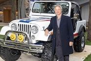 auto news jp jeep gary sinise cj7 barrett jackson