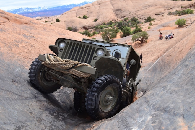 Mighty 1943 WWII Military Jeep